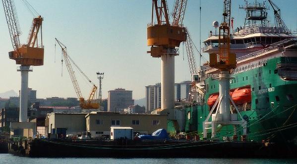 Energía renovable para los puertos
