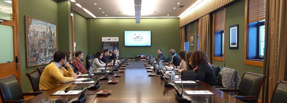 IHCantabria participated in the transnational meeting of Portos Project in Vigo (Spain)